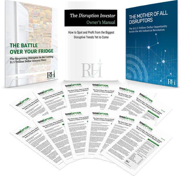 Disruption Investor and Special Reports bundle